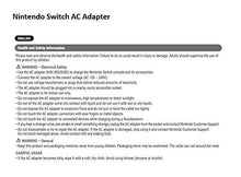 Load image into Gallery viewer, Nintendo Switch AC Adapter