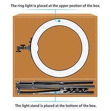 "Load image into Gallery viewer, Neewer Ring Light Kit:18""/48cm Outer 55W 5500K Dimmable LED Ring Light, Light Stand, Carrying Bag for Camera,Smartphone,YouTube,Self-Portrait Shooting"