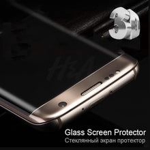 Load image into Gallery viewer, 3D Curved Edge Tempered Glass on the For Samsung Galaxy S7 S6 Edge Screen Protector For Samsung S6 S7 Protective Glass Film