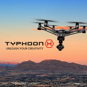 Original Yuneec Typhoon H 480 PRO Drone with Camera HD 4K RC Quadcopter RTF 3-Axis 360 Gimbal vs DJI Inspire 2 MavicPro In Stock