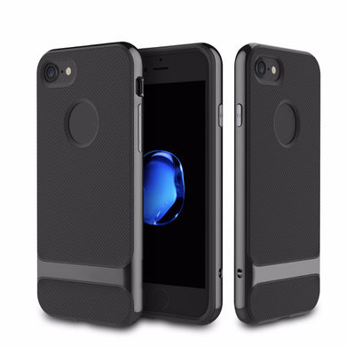 TPU Shockproof Hard Case Scrub Skin Protector Cover For iPhone7 iPhone 7 Plus