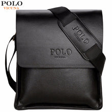 Load image into Gallery viewer, VICUNA POLO Famous Brand Leather Men Bag Casual Business Leather Mens Messenger Bag Vintage Men's Crossbody Bag bolsas male