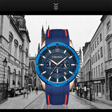 Load image into Gallery viewer, DIESSOL Watch Men Fashion Casual Sport Quartz Clock Mens Watches Top Brand Luxury Rubber Band Waterproof Watch Relogio Masculino