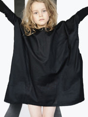 Large Image of BOdeBO Organic Dress Black 6-9yrs