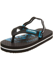 Large Image of Diesel Maya Flip Flops Black