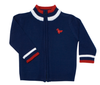 Dis Une Couleur Of France Zip Sweater Navy