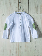 Large Image of Minimu of Italy Adriano Grey Shirt 8-12yrs *Incredibly Soft*