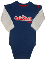 Large Image of Osh Kosh 2-in-1 Bodysuit Blue