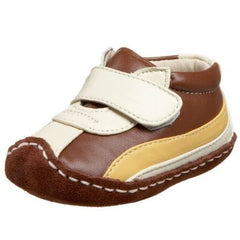 Large Image of Smaller Two Tone Soft Crib Loafer Butterscotch