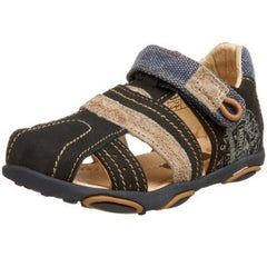 Large Image of Beeko Fisk Fisherman Sandal Navy