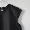 VDJ Linen Blouse Short Sleeve Black - 10 -15yrs