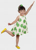 Zozio Japan Dress Green/White