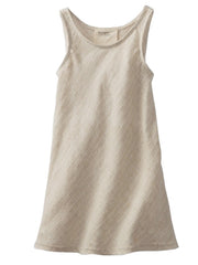 Large Image of boy+girl Los Angeles Natural Linen Dress
