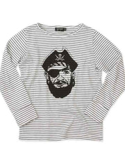 Large Image of Yporqué Spain Striped Tee Pirate *Favourite*
