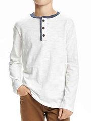 Large Image of Slub Cotton Jersey, White - *Our Favourite*
