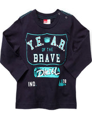 Large Image of DIESEL® 'Year of the Brave' T-Shirt