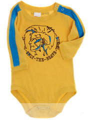 Large Image of DIESEL Romper Suit Yellow