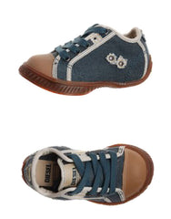 Large Image of DIESEL Canvas Sneaker Indigo/Almond