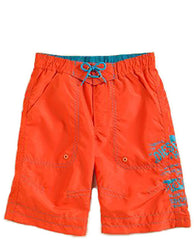 Large Image of Diesel Orange/Turquoise Boardshorts 2-4yrs