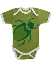 Large Image of Positively Organic Luxe Green Bodysuit