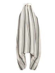 Large Image of LCF Stripe Linen Halter Jumpsuit  *LOVE! LOVE!*