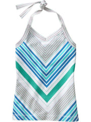 Large Image of Old Navy Girls Halter Top Blue