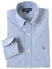 Large Image of Ralph Lauren Oxford Shirt Chambray