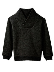 Large Image of Pop Up Shop Organic Sweater Black *Kids Favourite*