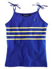 Large Image of Ralph Lauren Striped Tank - Blue