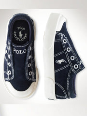 Large Image of Ralph Lauren Suede Sneaker Navy *Fabulous*