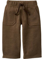 Large Image of Old Navy Fleece Pants Brown