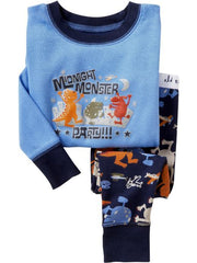 Large Image of Old Navy Sleep Sets Midnight Monster