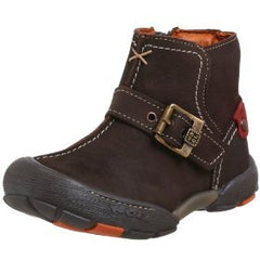 Large Image of Noel Suede Boot Chocolate