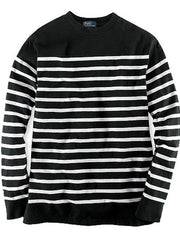 Large Image of Ralph Lauren B/W Stripe Top *Winter Essential*
