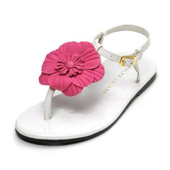 Large Image of Ralph Lauren Suzanne Sandal White