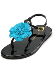 Large Image of Ralph Lauren Suzanne Sandal Black