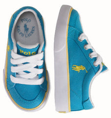 Large Image of Ralph Lauren Sneaker Turquoise