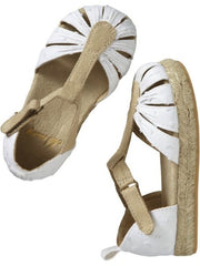 Large Image of Old Navy Espadrilles White