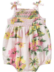 Large Image of Old Navy Smocked Bubble Pink