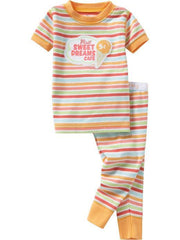 Large Image of Old Navy Pyjamas Mustard Stripe