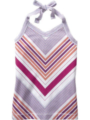 Large Image of Old Navy Girls Halter Top Purple