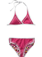 Large Image of Old Navy Reversible Pink Bikinis