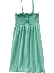 Large Image of ON Convertable Stripe Dress Green