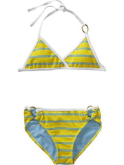 Large Image of Old Navy Reversible Ring Yellow Bikinis