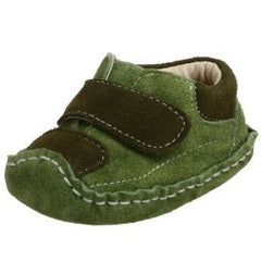 Large Image of Smaller Addison Soft Suede Crib Loafer