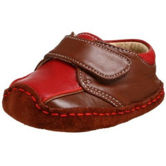 Large Image of Smaller Lewis Soft Leather Crib Loafer