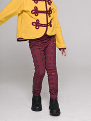 Large Image of Shampoodle Nelson Leggings Red *we adore*
