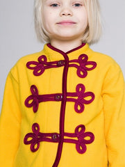 Large Image of Shampoodle Fleece Jacket Yellow *kids favourite*