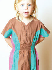 Large Image of Shampoodle Organic Colour Block Dress