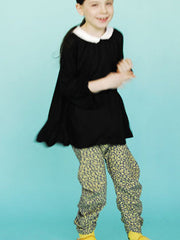 Large Image of BOdeBO of France Tamarina Tunic Black/White 2-6yrs